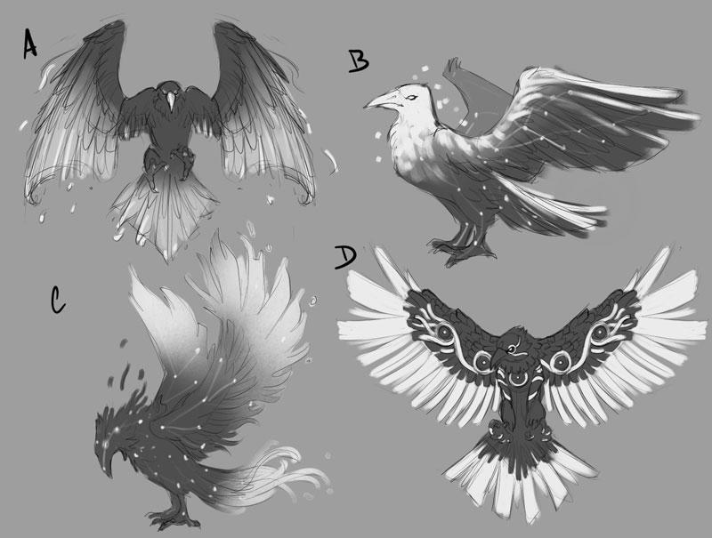 Raven Concept Art