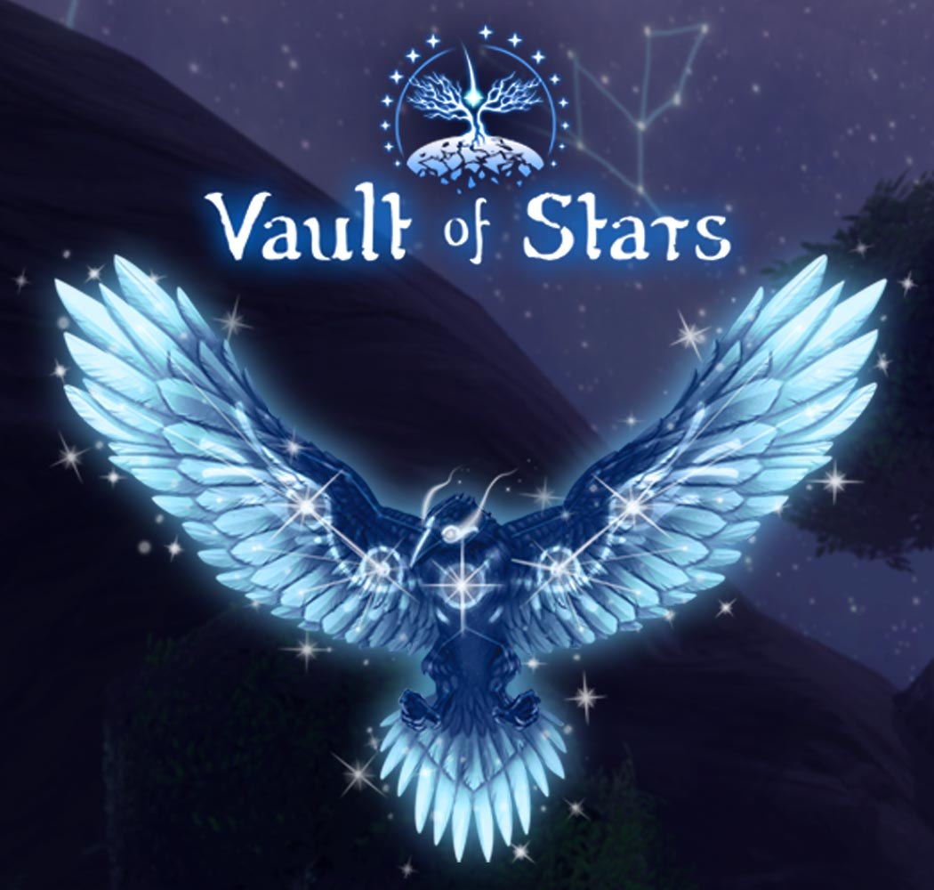Raven and Vault of Stars Logo